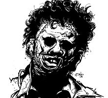 LEATHERFACE by mrbones