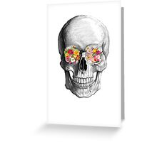 Skull Luxe Greeting Card