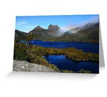 Sapphire Waters of Dove Lake Greeting Card