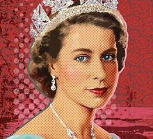 Her Majesty  Queen Elizabeth ll by Everett Day
