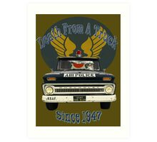 Air Force Peacekeepers: Death From A Truck Art Print