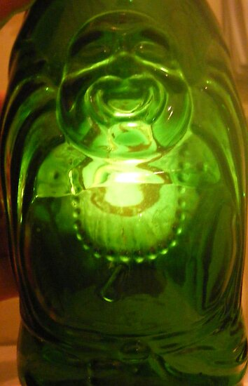 The Laughing Glass Buddha by Lila Alias