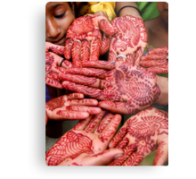 Henna Hands   (Limited Edition Print of 50) Metal Print