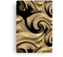 Canadian Beige Ghost Canvas Print