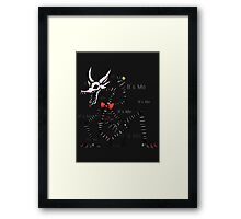Mangle Five Nights at Freddy's - It's Me Framed Print