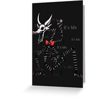 Mangle Five Nights at Freddy's - It's Me Greeting Card