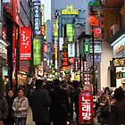 Even At Night, Myeondong is Crowded by Christian Eccleston