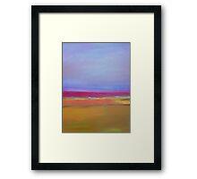 "Summertime and the ""livin""is easy Framed Print"