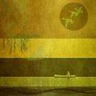 Ducks: Flying: CC10 Gold by Steven House