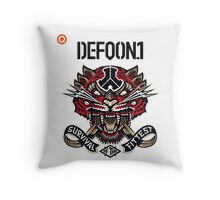 Defqon. 1 2014 - Survival of the Fittest! Throw Pillow