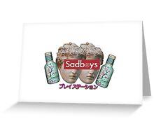 sadboys tm Greeting Card