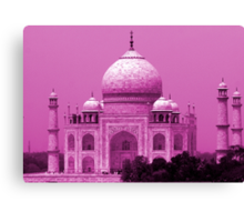 Taj Mahal - India Canvas Print