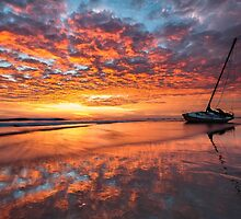 Graveyard of the Atlantic - Cape Hatteras Outer Banks North Carolina Shipwreck Sunrise by MarkVanDyke