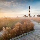 Radiant - Bodie Island Lighthouse OBX North Carolina by MarkVanDyke