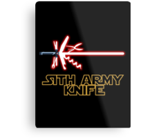 Sith Army Knife Metal Print
