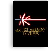 Sith Army Knife Canvas Print