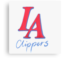 CLIPPERS HAND-DRAWING DESIGN Canvas Print