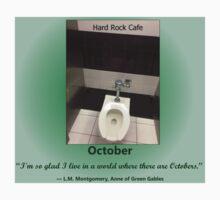 Toilets of New York 2015 October - Hard Rock Cafe T-Shirt