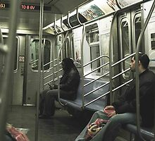 The 2am L train to 8th Avenue by lightplay
