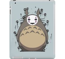 Totoro No Face iPad Case/Skin