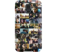supernatural - destiel (dean/castiel) caps Samsung Galaxy Case/Skin