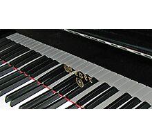 Grand Piano Reflections Photographic Print
