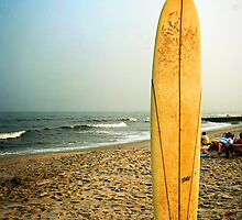 Long Beach Island Sufboard at Sunset by ANJacobsen