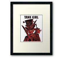 Tank Girl: Red Madness Framed Print