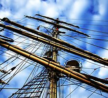 up the rigging  by Nicholas Averre