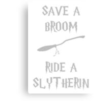 Harry Potter Ride a Slytherin Canvas Print