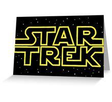 Star Trek - Star Wars parody Greeting Card