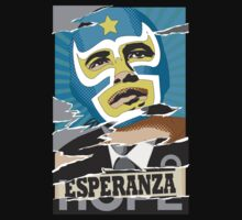 Esperanza (Hope) Lucha libre by Reece Ward