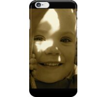 Peek-a-Boo - Antique  iPhone Case/Skin