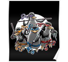 Teenage Mutants Paramilitary Penguins Poster