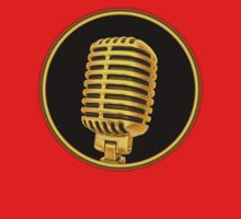 Vintage Gold Microphone by vikisa