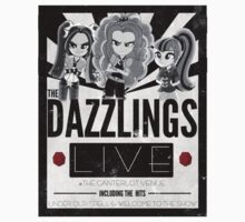 Dazzlings concert poster Kids Clothes