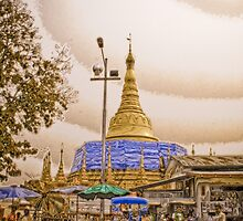 Chedi - Burma by Stephen Permezel
