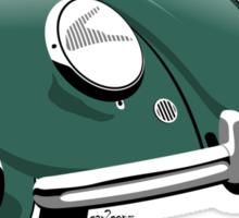 VW Beetle type 1 green Sticker