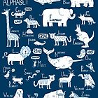 Animal Alphabet by ShakeyIllustra