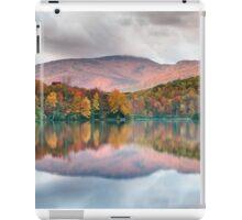 Grandfather Mountain Price Lake Autumn Reflections Blue Ridge Parkway iPad Case/Skin