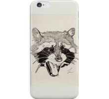 Rockin' Raccoon iPhone Case/Skin