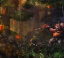 Hostile Environment by orioto
