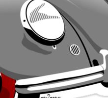 VW Beetle type 1 grey Sticker
