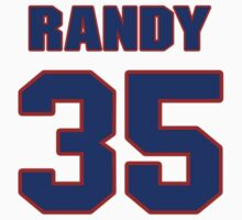 National baseball player Randy Sterling jersey 35 by imsport