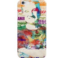 Robin Williams Tribute iPhone Case/Skin
