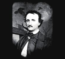 Edgar Allan Poe - Graveyard  Kids Clothes