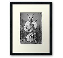 Pearl the Warrior Framed Print