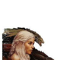 Mother of Dragons - Daenerys Targaryen by elektro