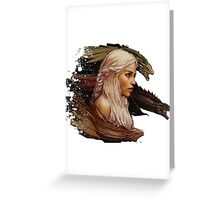 Mother of Dragons - Daenerys Targaryen Greeting Card