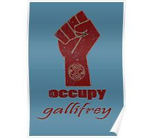 Occupy Gallifrey - Doctor Who Poster